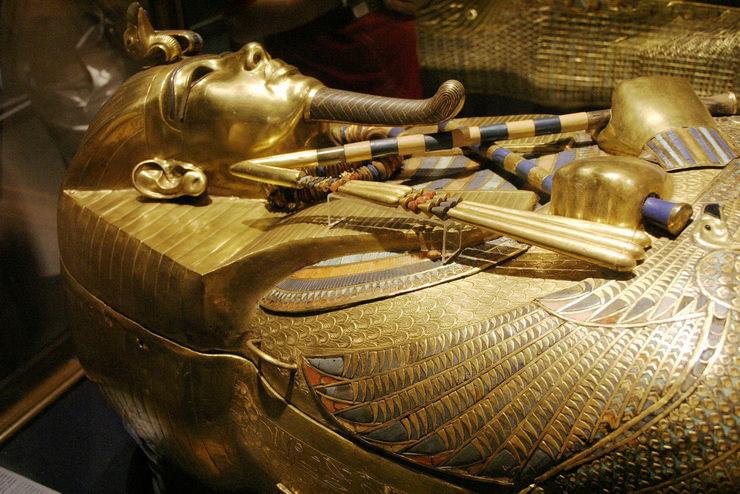Гробница Тутанхамона. Луксор, Египет