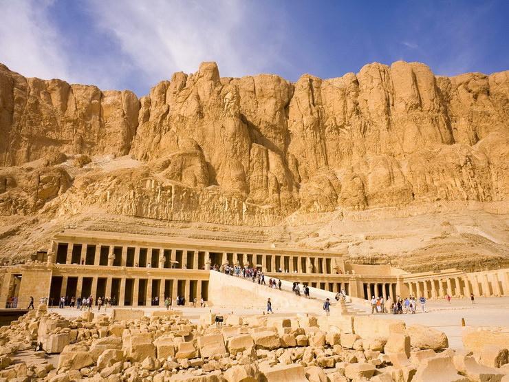 Храм царицы Хатшепсут в Луксоре, Египет