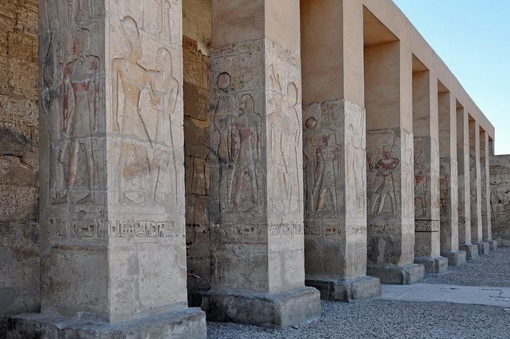 Погребальный храм Сети в Абидосе, Египет