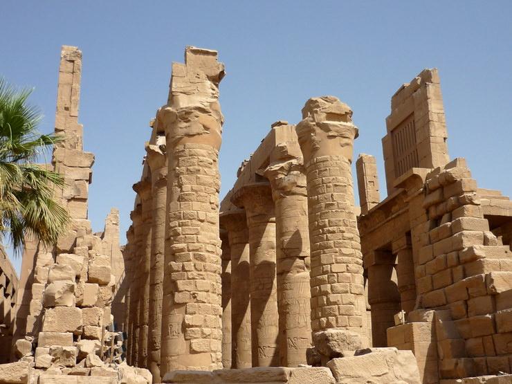 Карнакский храм. Луксор, Египет