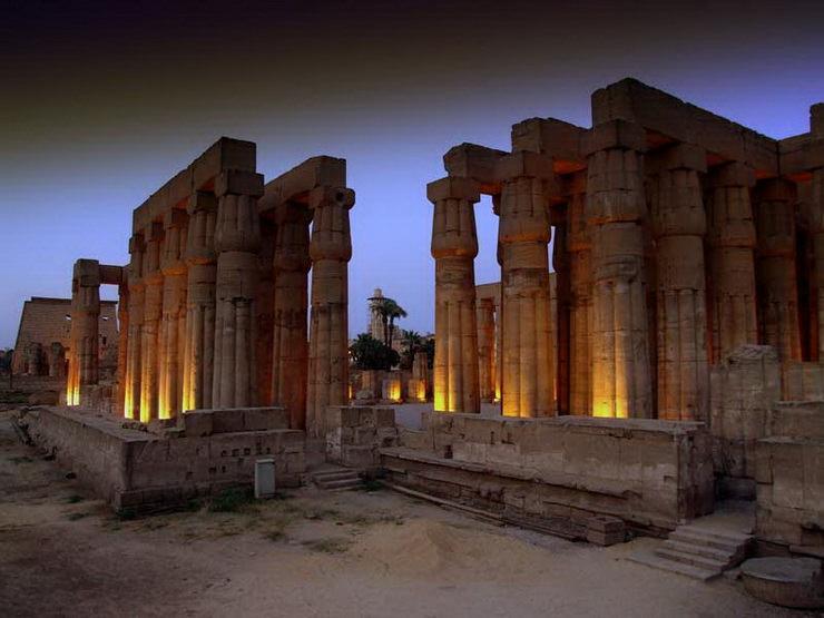 Луксорский храм, Египет