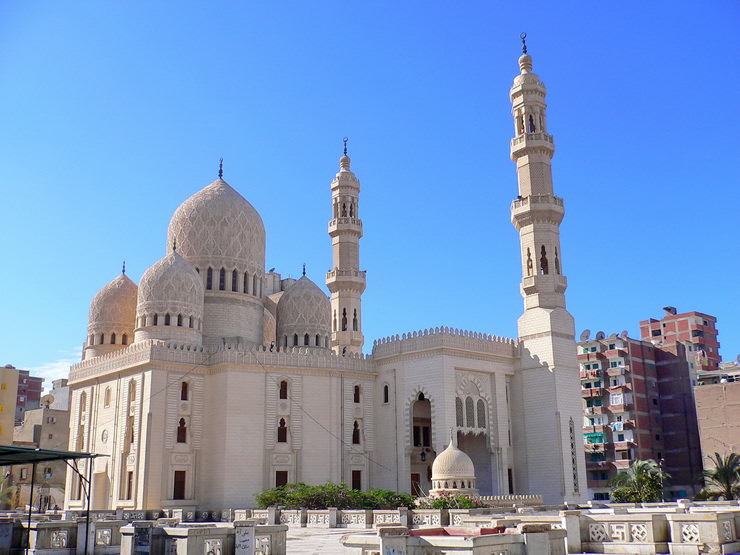 Мечеть Эль-Мурси Абуль-Аббаса, Александрия, Египет