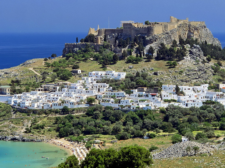Греция, Родос. Отдых с детьми в июне