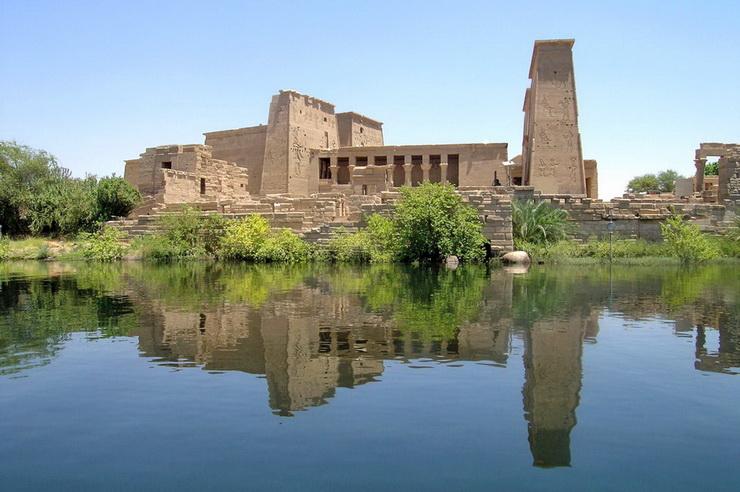 Храм Исиды на острове Филе, Египет