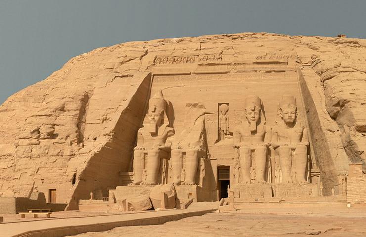 Храм Рамзеса II, Абу-Симбел, Египет
