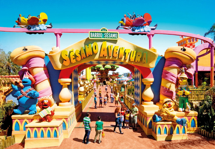 Развлекательный парк Порт Авентура в Испании