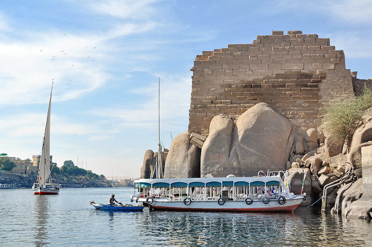 Остров Сехель, Асуан, Египет
