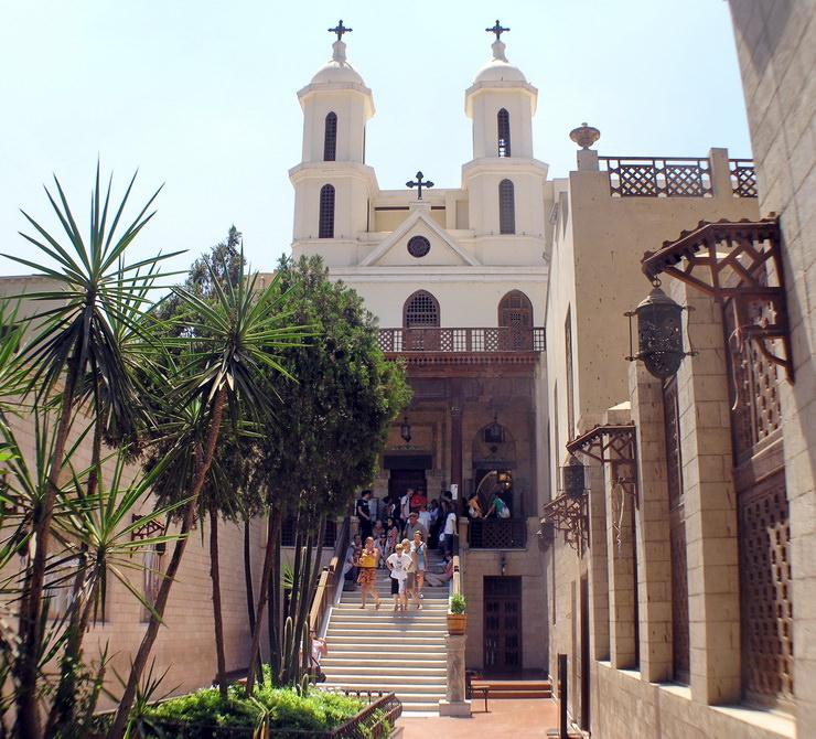 Висячая Церковь в Каире, Египет