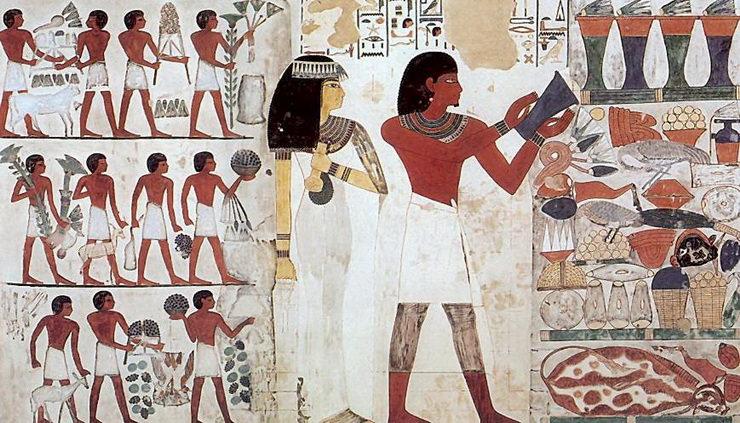 Гробница Нахта, Асуан, Египет