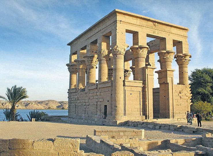 Павильон Траяна, Асуан, Египет