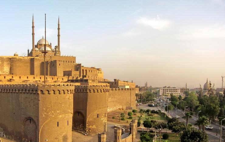 Цитадель Саладина в Каире, Египет