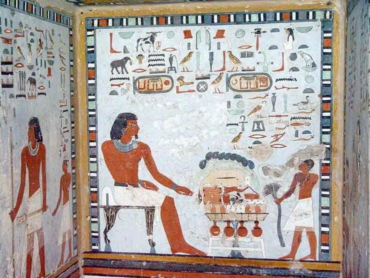 Гробница Саренпута, Асуан, Египет