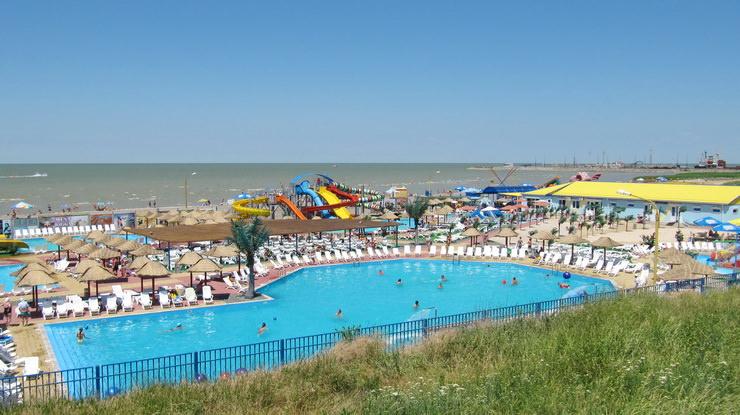 Аквапарк в Ейске, отдых с детьми на курортах Азовского моря