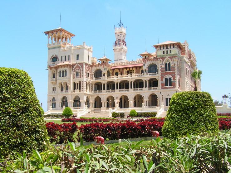 Дворец Монтаза в Александрии. Отдых с детьми в Египте.