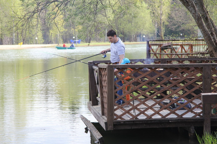 Рыбалка в подмосковном парк-отеле «Кранкино»