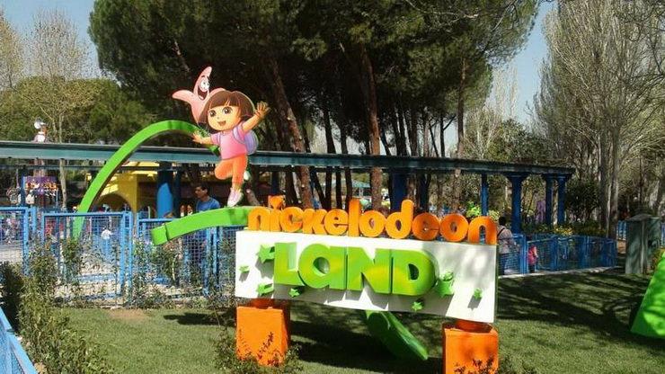 Отдых с ребенком в августе. Nickelodeon Land, Мадрид, Испания
