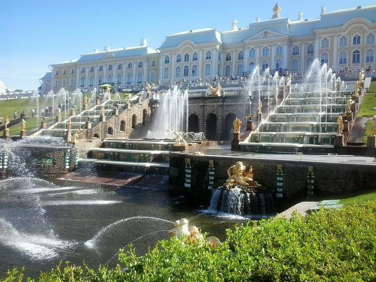 Отдых с ребенком в октябре в Санкт-Петербурге. Петергоф