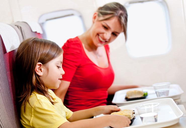 Детское меню в самолете