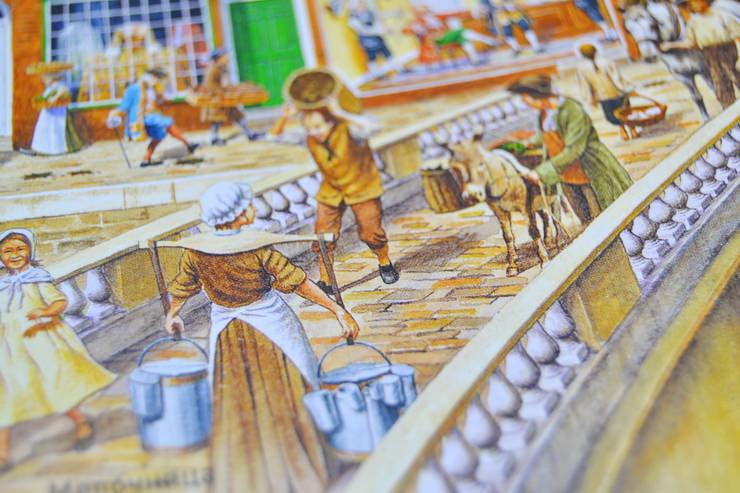 """Иллюстрации из книги """"Улица сквозь время"""""""