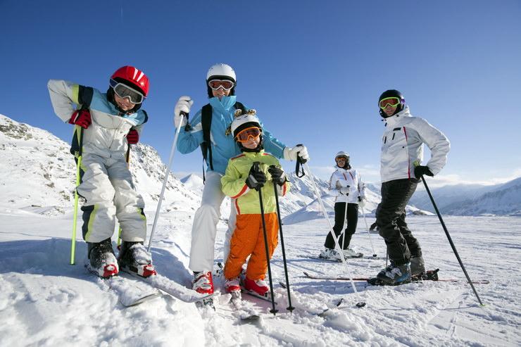 Отдых с детьми в декабре на горнолыжных курортах