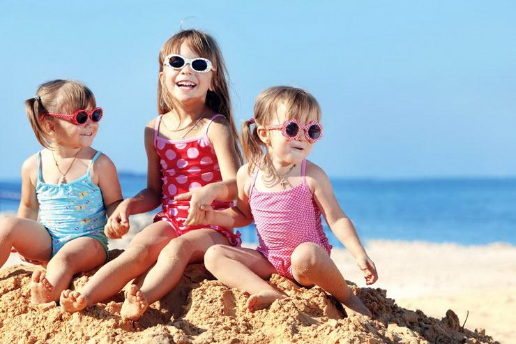 Пляжный отдых с детьми в декабре