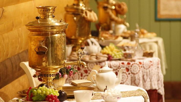 Дегустация чая в Музее Чая в Русском парке