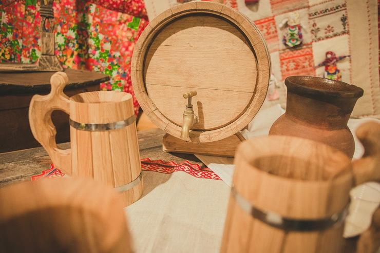 Дегустация кваса в Музее Чая в Русском парке