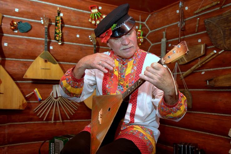 Музей Русские народные инструменты в Русском парке