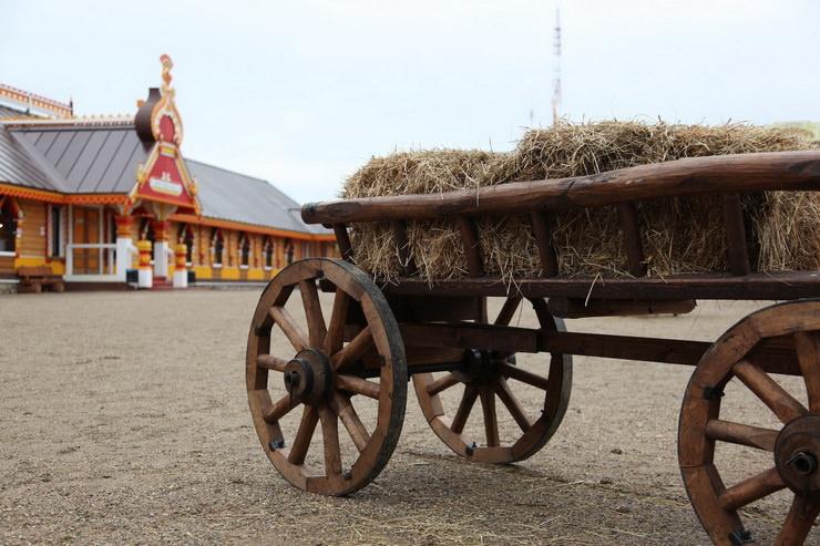 Русский быт и забавы в Русском парке