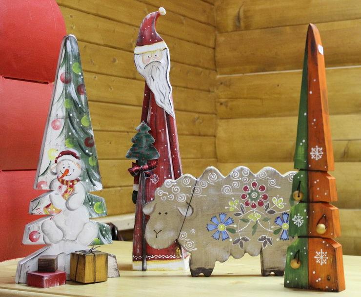 Сувениры ручной работы в Русском парке