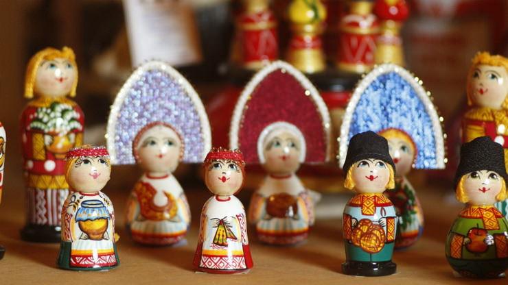 Сувениры в Русском парке