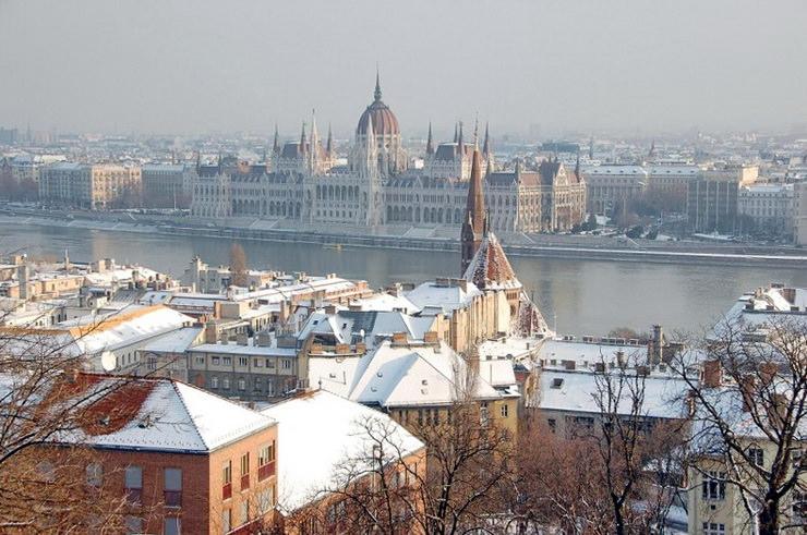 Венгрия с детьми на Новый год