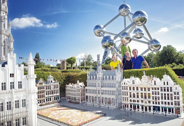 Парк Мини-Европа в Бельгии