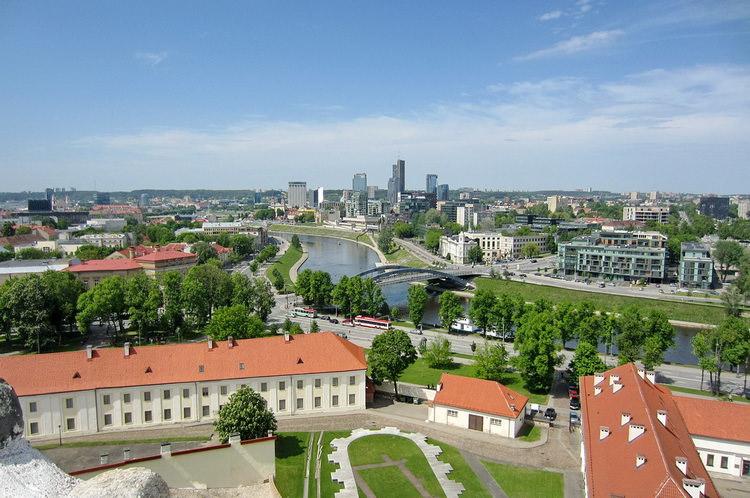 Вильнюс Литва с детьми на каникулах