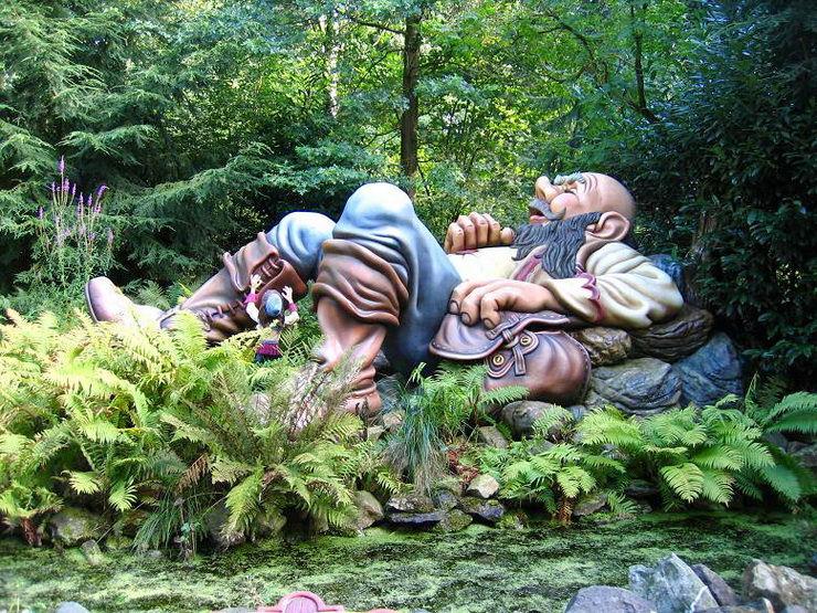 Волшебное королевство в парке Эфтелинг