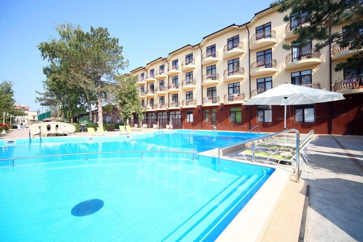 Семейные отели Анапы для отдыха с детьми