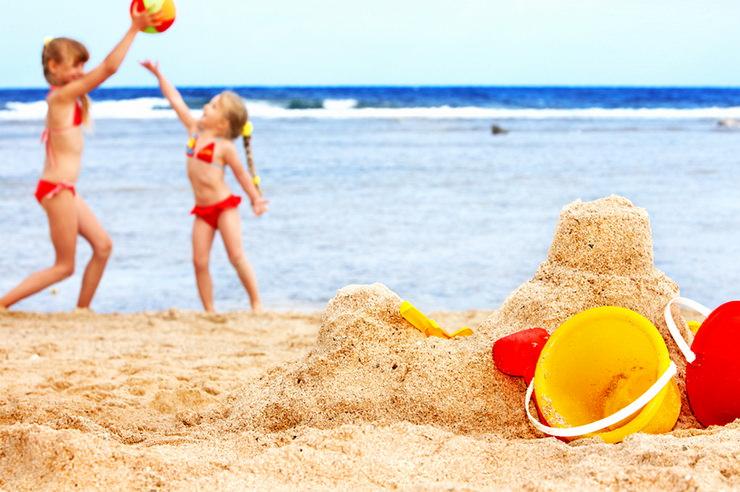 Песчаные пляжи для семейного отдыха