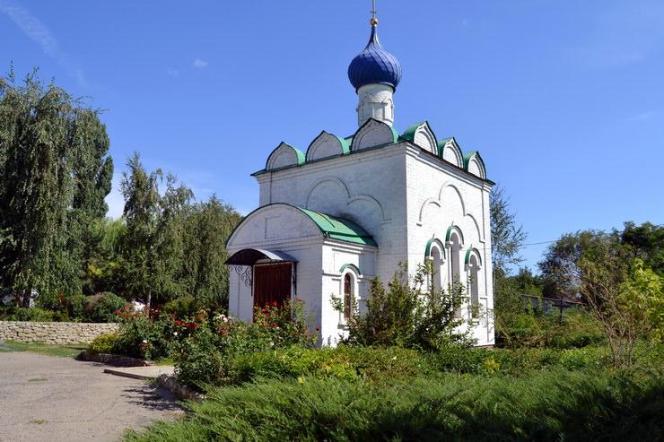 Церковь Покрова Пресвятой Богородицы. Дубовка