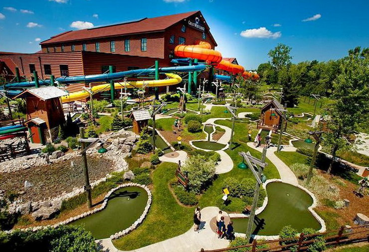Great Wolf Lodge Niagara Falls. Аквапарк