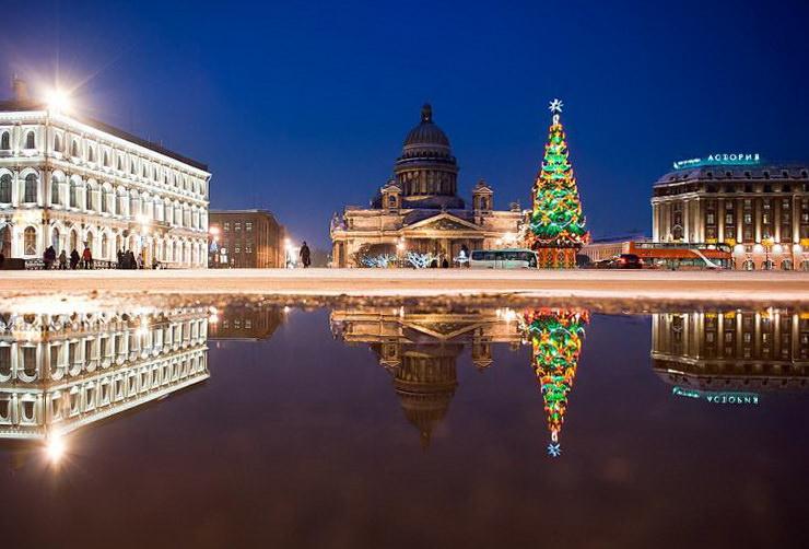 Где встретить Новый год с детьми в Санкт-Петербурге