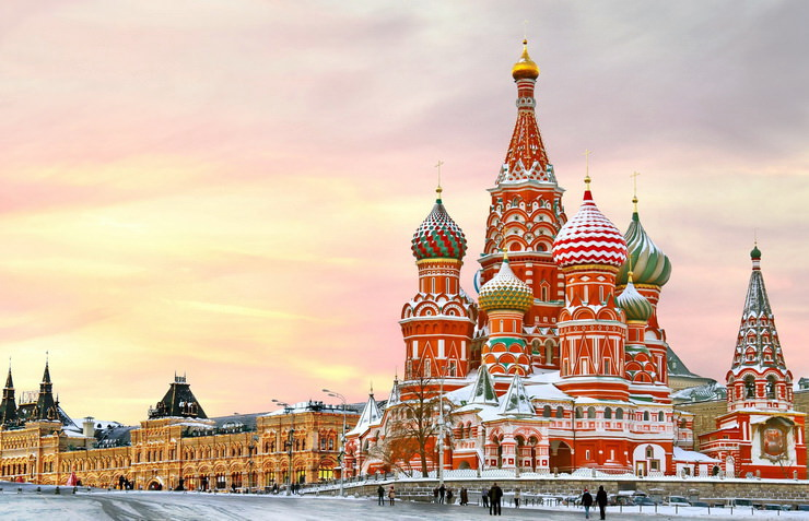 Новый год с детьми в Москве