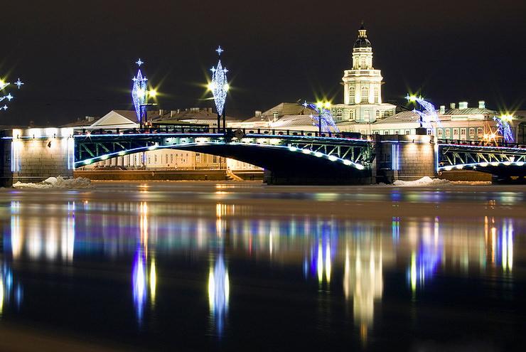 Новый год с детьми в Санкт-Петербурге