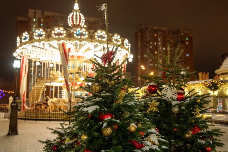 Путешествие в Рождество в Москве
