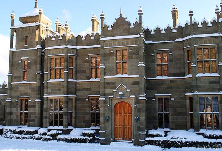 Воронцовский дворец. Зимний Крым