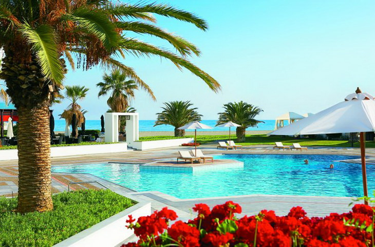 Семейные отели Греции Все включено