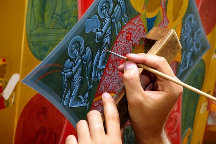 Мастер-класс по иконописи