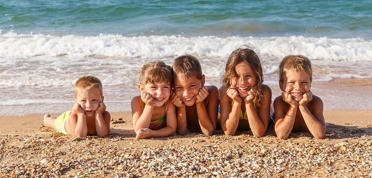 Пляжи Крыма для отдыха с детьми