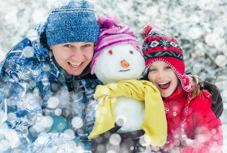 Новый год в России. Куда поехать с детьми на новогодние праздники