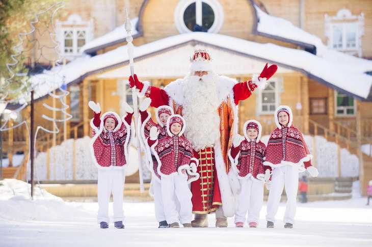 Дед Мороз в Великом Устюге