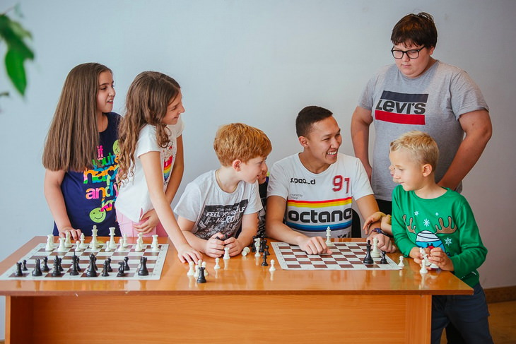 Шахматные сборы для детей